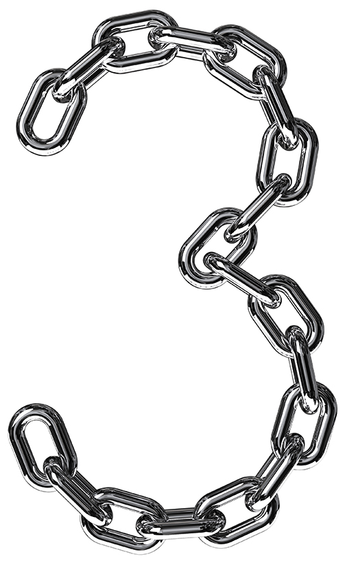 image of a chain to show strength